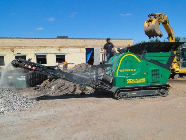 Lem Track 7040 Jaw Crusher