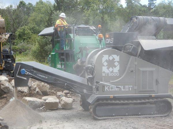 komplet mt-5000-hammer-mill-track