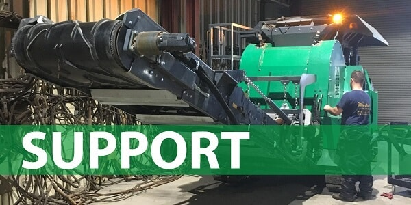 Komplet Support, Parts & Service for Crushers, Screeners, and Shredders