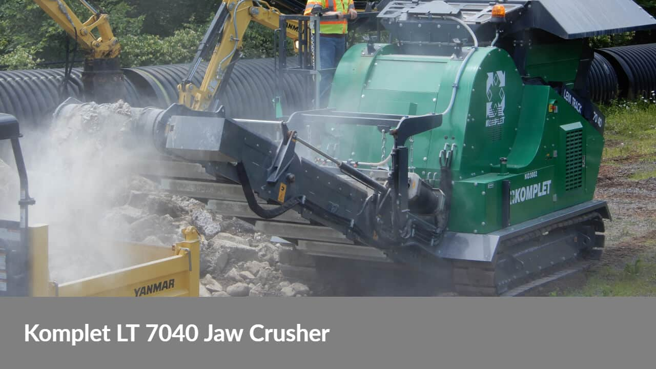 komplet-lt-7040-jaw-crusher-demo-day