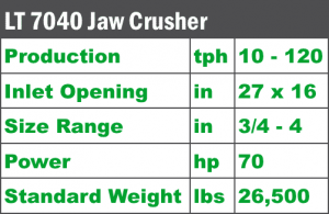 lt-7040-jaw-crusher-specs-komplet-north-america