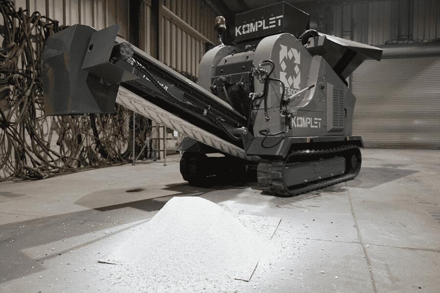komplet-mt-5000-hammer-mill-processing-gypsum-demo-komplet-north-america
