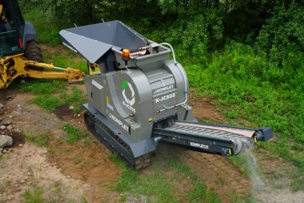 mini crusher machine komplet-k-jc503-small-mobile-jaw-crusher-demonstration-komplet-north-america Small Portable Crushers, Screeners, and Shredders