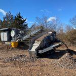 Screening & Crushing Equipment Processing Concrete & Asphalt